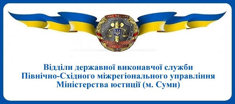 ВДВС Північно-Східного міжрегіонального управління Міністерства юстиції