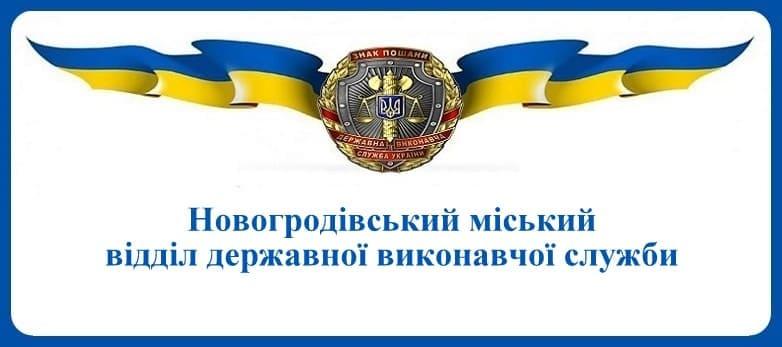 Новогродівський міський відділ державної виконавчої служби